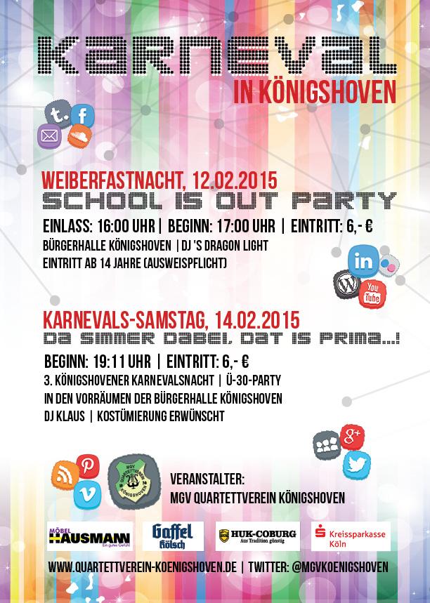Karneval in Königshoven 2015