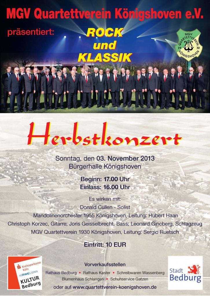 2013_Herbstkonzert_Quartettverein-Koenigshoven