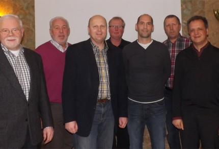 Quartettverein Management-Team 2014