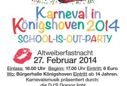 Karneval 2014 in Königshoven