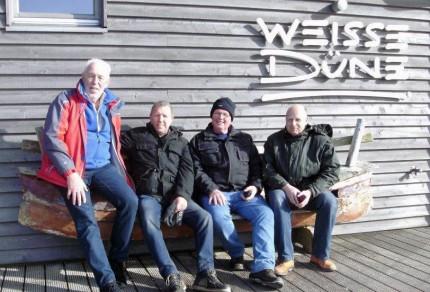 Das Kern-Team des Quartettverein Management-Teams: (v.l.n.r.) Willibert Düster, Wolfgang Schmitz, Hans Erdmann und Manfred Speuser. [Foto: Düster]