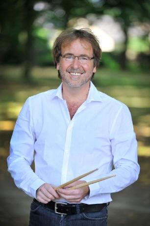Leonard Gincberg (Schlagzeug) [Foto: Skaiske Zabielaite]