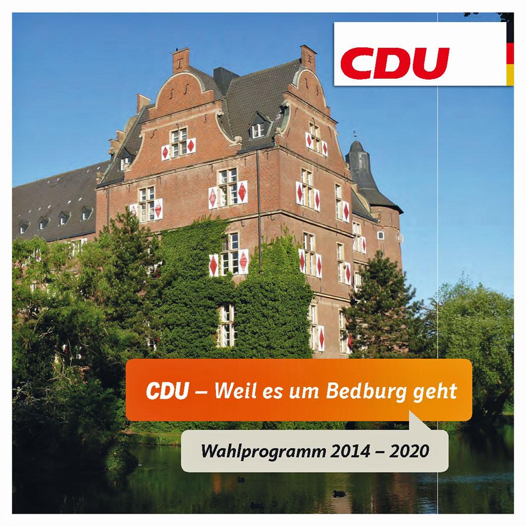 Der Neujahrsemfpang 2015 wurde in diesem Jahr durch die CDU Bedburg organisiert. [Foto: www.cdu-bedburg.de]