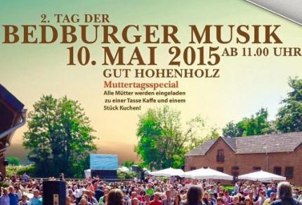 """Am 10. Mai 2015 findet zwischen 11:00 und 17:00 Uhr der """"2. Tag der Bedburger Musik"""" statt. (© Eduard Hilger)"""