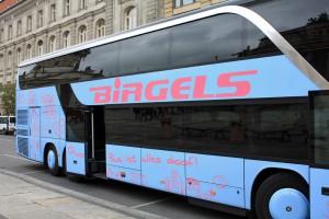 Unser komfortabler Reisebus der Firma Birgels Reisen aus Meerbusch mit unserem Busfahrer Stefan brachte uns immer sicher zu unseren Zielen. [Fotos: Bastian Schlößer]