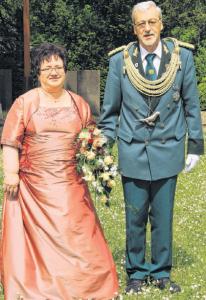 Das Königshovener Schützenkönigspaar 2016: Josef und Marlies Lemm [Foto: WERBEPOST]