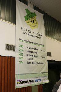 Der neue Banner zeigt alle Schirmherren ab 2005 und wird weiter forgesetzt.