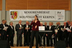 Wie immer sorgte Daniela Bosenius auch bei der Anmoderation der Liedbeiträge für beste Unterhaltung.