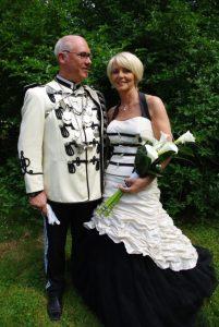 Schützenkönigspaar Reiner und Claudia Wirtz (Foto: www.weisse-husaren.de)