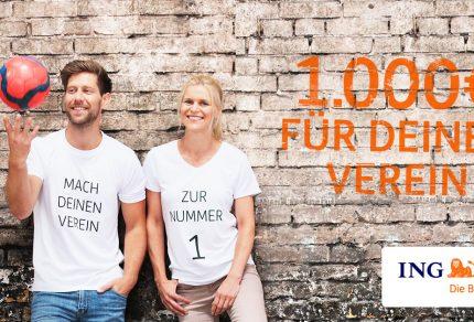 Wir brauchen Ihre Stimme für 1.000 Euro. - Machen Sie mit und unterstützen Sie unsere lokale Vereinsarbeit!