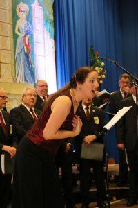 In ihren Soliparts überzeugte Daniela Bosenius nicht nur mit ihrem Gesang, sondern zeigte auch ihr schauspielerisches Talent.