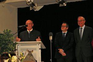 Ortsbürgermeister Willy Moll berichtete über den besonderen sozialen Zusammenhalt in Königshoven.