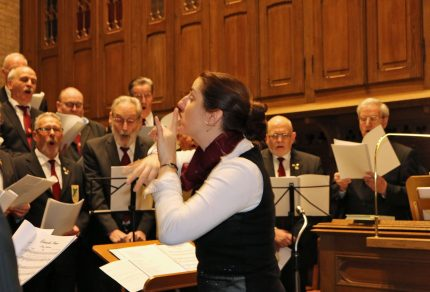 Der Königshovener Quartettverein lädt herzlich zur Hl. Messe am Samstag, 3. März 2018, 18:30 Uhr, in die Pfarrkirche St. Peter Königshoven ein. (Foto: Bastian Schlößer)