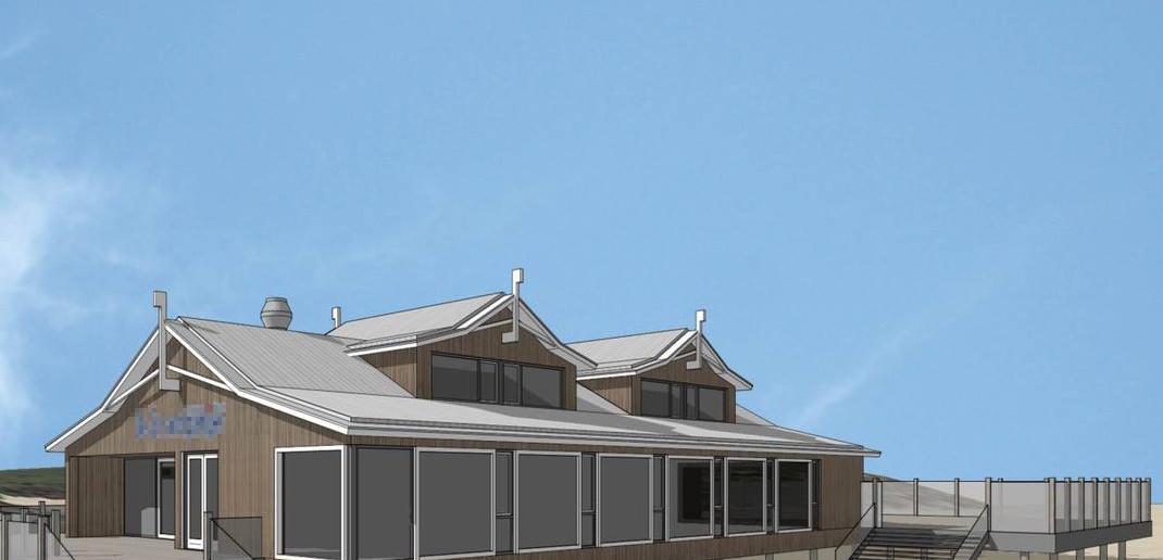 Königshoven kann sich freuen: Der Bau eines festen Pavillons trägt zur Erreichung der Klimaziele bei und bietet Platz für bis zu 1.000 Gäste. (Foto: Münchener Architekturbüro Dipl. Ing. Holger König)