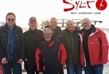Die Jungs des Sylter Vortour-Teams (v.l.n.r.): Thomas Auth, Heinz Wego, Theo van Peij, Wolfgang Schmitz, Manfred Speuser und Hans Erdmann. (Foto: MGV Quartettverein Königshoven)