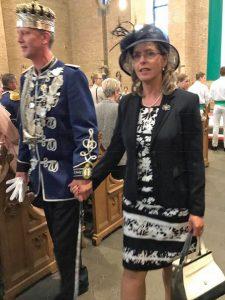Das Königshovener Schützenkönigspaar - Michael II. und Claudia Hackbarth.