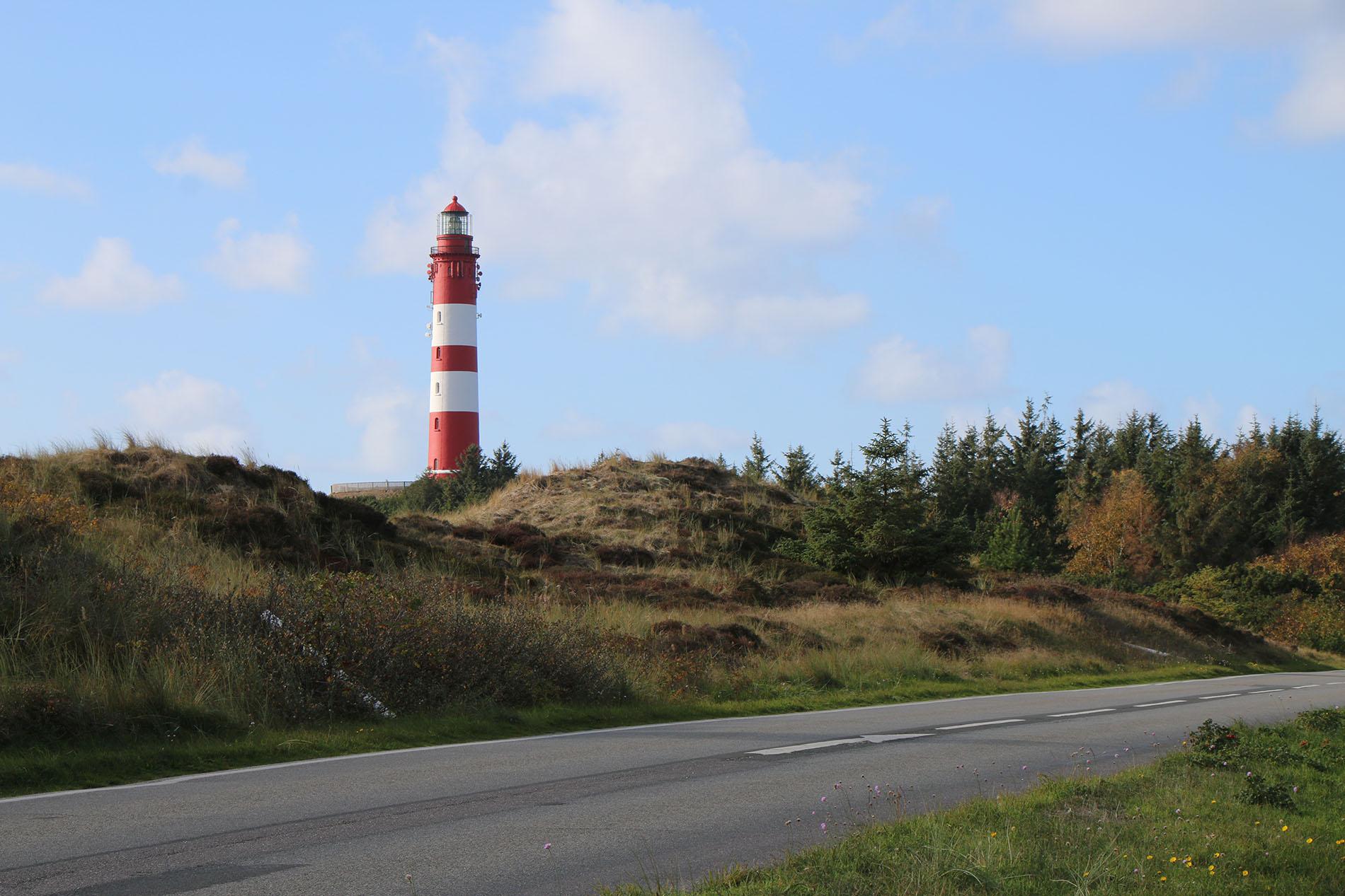"""Das """"Amrumer Leuchtfeuer"""" war ein beliebtes Ausflugsziel während des Tagesausflugs auf die Insel Amrum."""