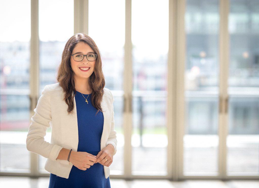 Unsere Protektorin 2019, Romina Plonsker MdL, hat sich unserer Internetredaktion einem kleinen Interview gestellt. (Foto: Landtagsbüro Romina Plonsker)