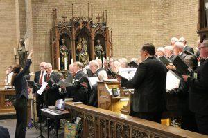 Die musikalische Gestaltung der hl. Messe für die Lebenden & Verstorbenen des Quartettvereins übernahm der Chor an diesem Samstagabend.