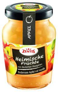 Die heimische Konfitüre soll es demnächst neu auch mit Äpfeln direkt mitten aus Königshoven neu im Produktsortiment geben. (Foto: ZENTIS)
