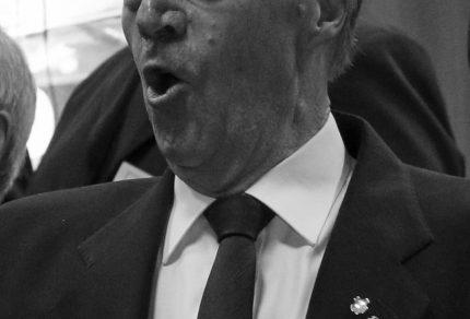 Der Quartettverein war geschockt von der Nachricht, dass Sangesburder Heinrich Schiffer am vergangenen Sonntag, 1. September 2019, verstorben ist. (Foto: Bastian Schlößer)