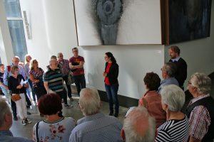 Romina Plonsker MdL hieß ihre Quartettverein-Familie im Landtag von NRW herzlich willkommen.