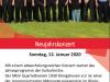 In die Fußstapfen von Konrad Beikircher:  MGV Quartettverein gastiert gemeinsam mit Daniela Bosenius & Julia Diedrich beim Neujahrskonzert 2020 in der Kulturkirche Elsdorf-Angelsdorf